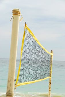 Free Beach Volley Royalty Free Stock Photography - 6687037
