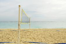 Free Beach Volley Royalty Free Stock Images - 6687049