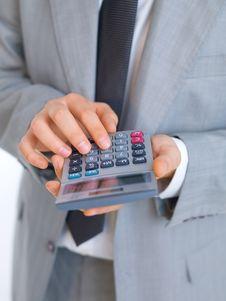 Free Business Man Closeup Royalty Free Stock Photos - 6687318