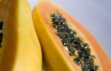 Free Papaya Halves Stock Photo - 6687480