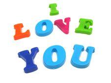 Love You Stock Photos