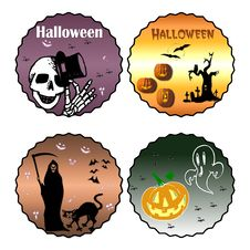 Free Halloween Clip Art Royalty Free Stock Images - 6688169
