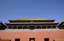 Free Royal Palace Of Chinese Ancient Building Stock Photography - 6688212
