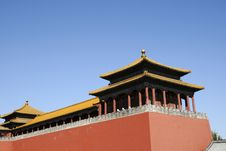 Free Chinese Ancient Building Royalty Free Stock Image - 6688226