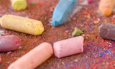 Free Colorful Pastels Royalty Free Stock Images - 6688559