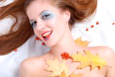 Free Woman And Ashberry Stock Photos - 6688583