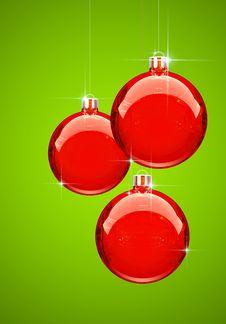 Free Red Christmas Ball Stock Photos - 6688593