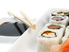 Free Sushi Royalty Free Stock Photography - 6688657