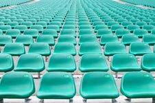 Free Empty Spectator Chairs Stock Images - 6688694