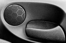 Free Car Loud Speaker In The Front Door Stock Images - 6688704