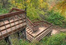 Free Stair In Autumn Park Stock Photo - 6689400