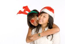 Free Girl Friends Hug Royalty Free Stock Images - 6689419