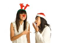 Free Girl Friends Conversation Stock Photography - 6689422