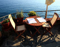 Free Restaurant Table In Monterosso Stock Photography - 6693832