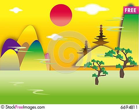 Free Beautiful Scene Stock Image - 6694811