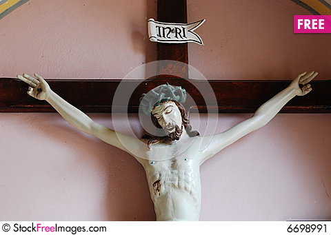 Free Jesus Christ On Cross. Stock Image - 6698991