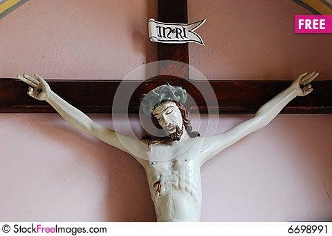 Free Jesus Christ On Cross. Stock Image - 6698991