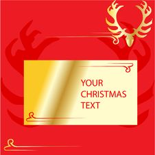 Free Christmas Vector Background Royalty Free Stock Photography - 6690067