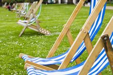 Free Vacant Deck Chairs Stock Photo - 6690310