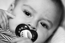 Free Baby Binky Royalty Free Stock Photo - 6690605
