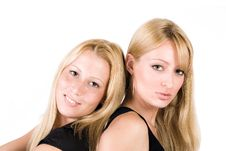 Free Two Sisters Royalty Free Stock Photos - 6691208