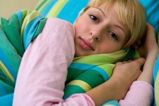 Free Beautiful Girl Waking Up Stock Photos - 6691583
