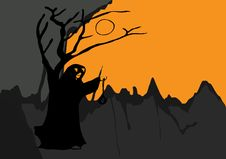 Free Ghost Night Halloween Stock Image - 6692431