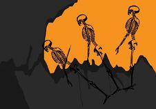 Free Skeleton Fellowship Royalty Free Stock Photography - 6692487