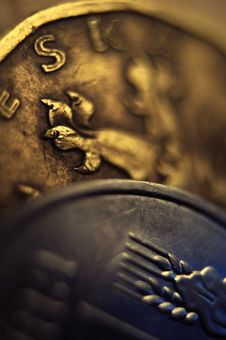 Free Two Coins Royalty Free Stock Photography - 6692687