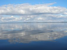 Free Clouds Reflected In The Lake Stock Photography - 6692932