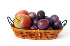 Free Basket Of Fruits Royalty Free Stock Photography - 6692947