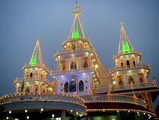 Free Illuminated Church Stock Images - 6693564