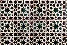 Islamic Tile Stock Image