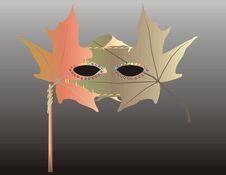 Free Natur Mask, Vector Illustration Royalty Free Stock Photos - 6694548