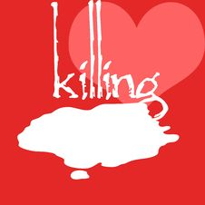 Free Killing A Heart Stock Photography - 6695112