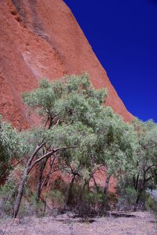 Free Corner Of Uluru Stock Photography - 6695202