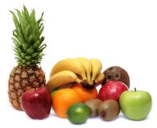 Free Group Of Fresh Ripe Fruits Royalty Free Stock Photo - 6695235