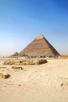 Free Chephren Pyramid Royalty Free Stock Images - 6695409