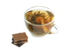 Cup With Herbal Tea Royalty Free Stock Images