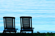 Free Chair And Beach Royalty Free Stock Photography - 6696677