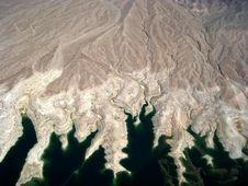 Free Aerial View Of Lake Mead Royalty Free Stock Photo - 6696705