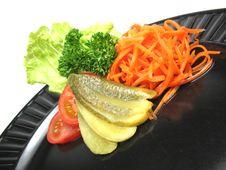 Free Garnished Plate Stock Photo - 6697720
