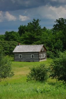 Free Log Cabin. Stock Photography - 6698372