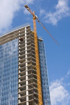 Free Cranes And Building Construction Stock Image - 6698451