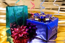 Free Gift Boxes Royalty Free Stock Photography - 6698577