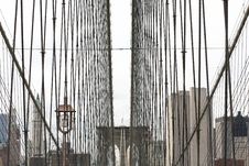 Free Brooklyn Bridge Stock Photo - 6699290