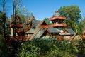 Free Mountain Chalet Royalty Free Stock Photo - 673905