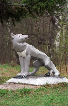 Free Monument To The Wolf Stock Image - 670271