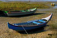 Free Traditional Fishing Boats Royalty Free Stock Photo - 670355