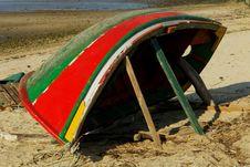 Free Boat In Reparing Stock Image - 670381